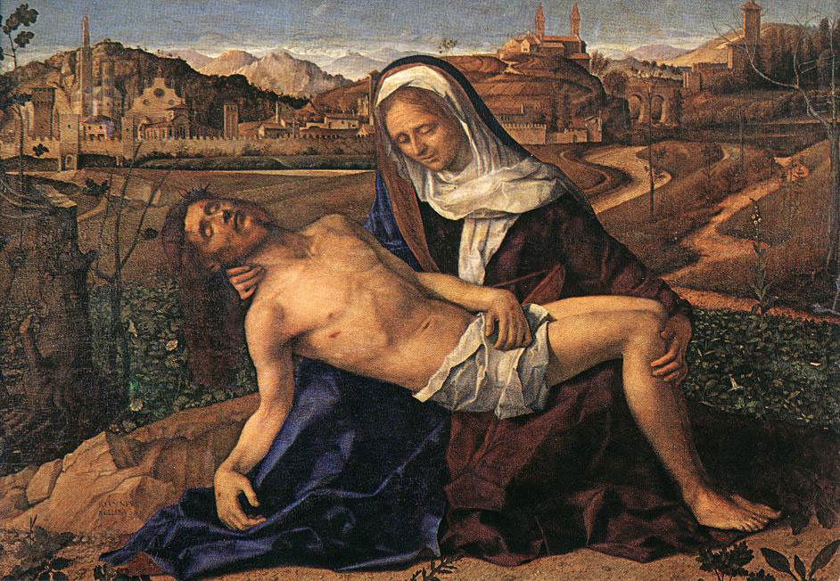 Giovanni Bellini's 1505 picture of me having a rest.